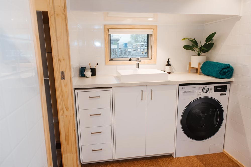 Washer/Dryer - Sonnenschein Tiny House by Build Tiny