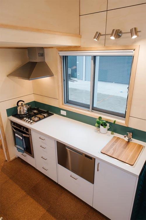 Kitchen Window - Sonnenschein Tiny House by Build Tiny