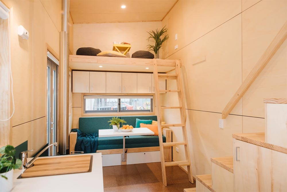 Living Room - Sonnenschein Tiny House by Build Tiny