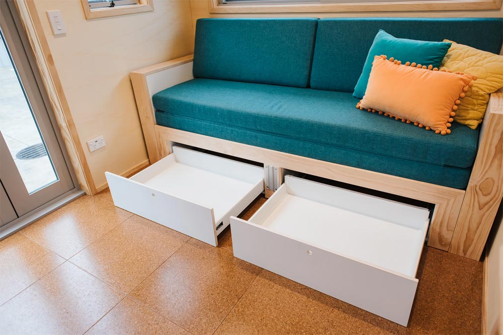 Storage Drawers - Sonnenschein Tiny House by Build Tiny