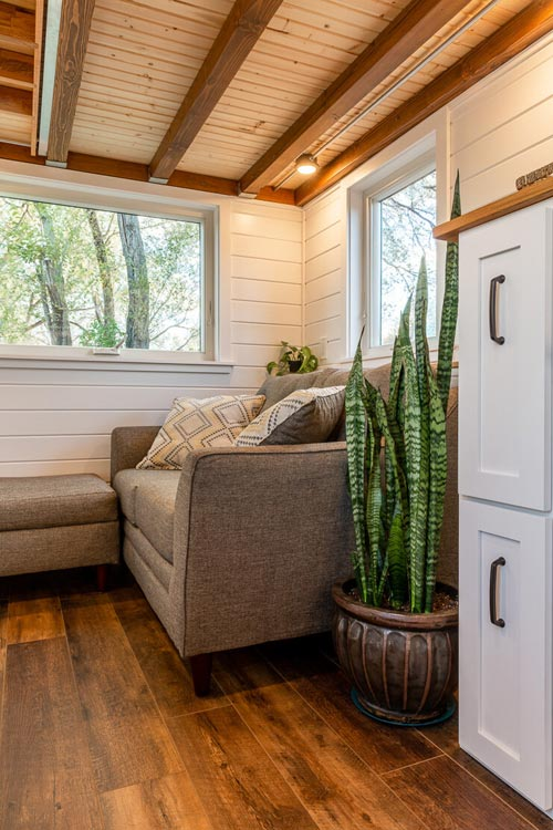 Couch - Nicole's Tiny House by MitchCraft Tiny Homes
