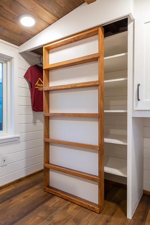Closet Door - Nicole's Tiny House by MitchCraft Tiny Homes