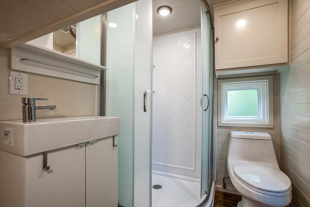 Full Bathroom - Origin by Indigo River Tiny Homes