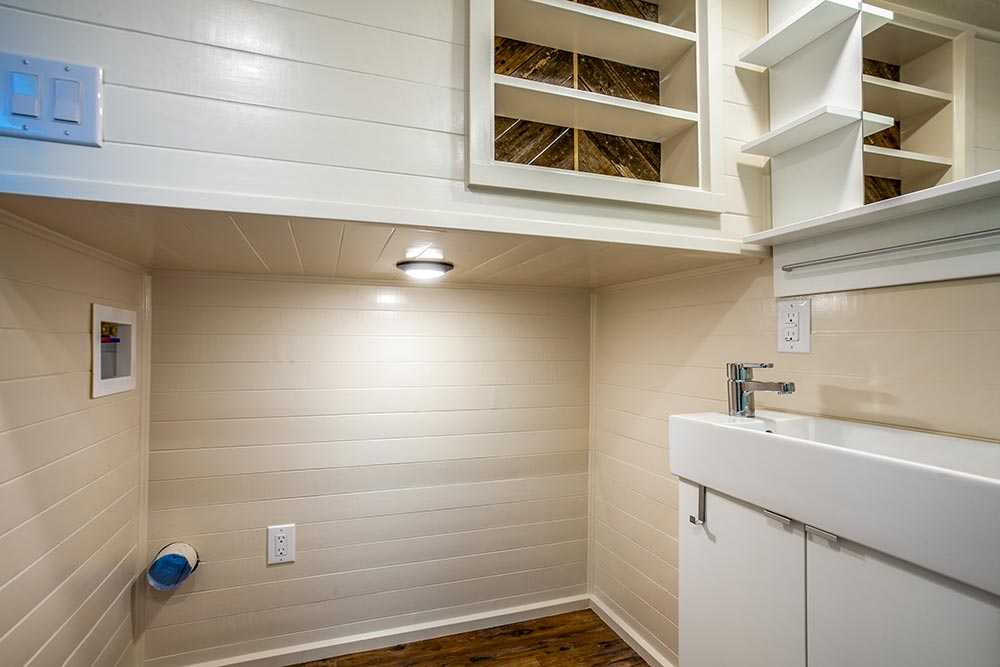 Washer/Dryer Space - Origin by Indigo River Tiny Homes