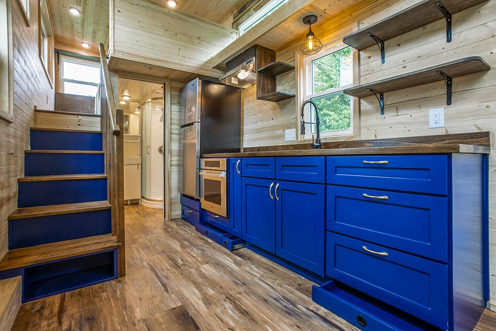 Kitchen Cabinets - Origin by Indigo River Tiny Homes