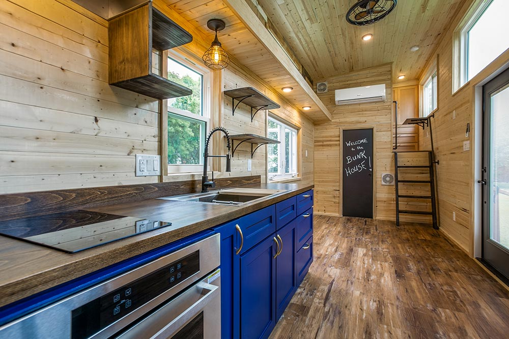 Electric Range & Cooktop - Origin by Indigo River Tiny Homes