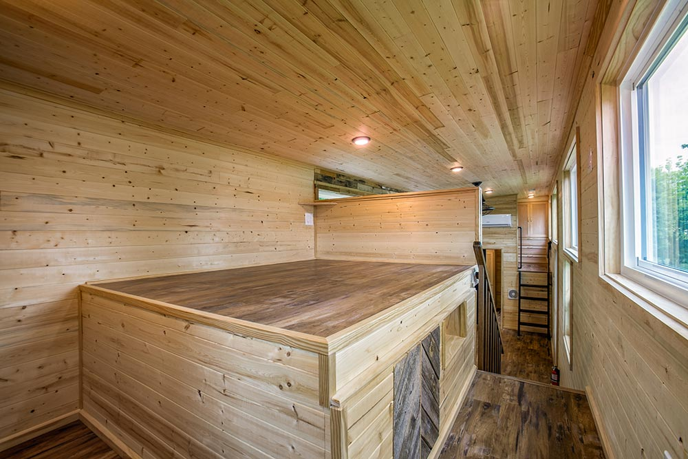 Natural Wood Interior - Origin by Indigo River Tiny Homes