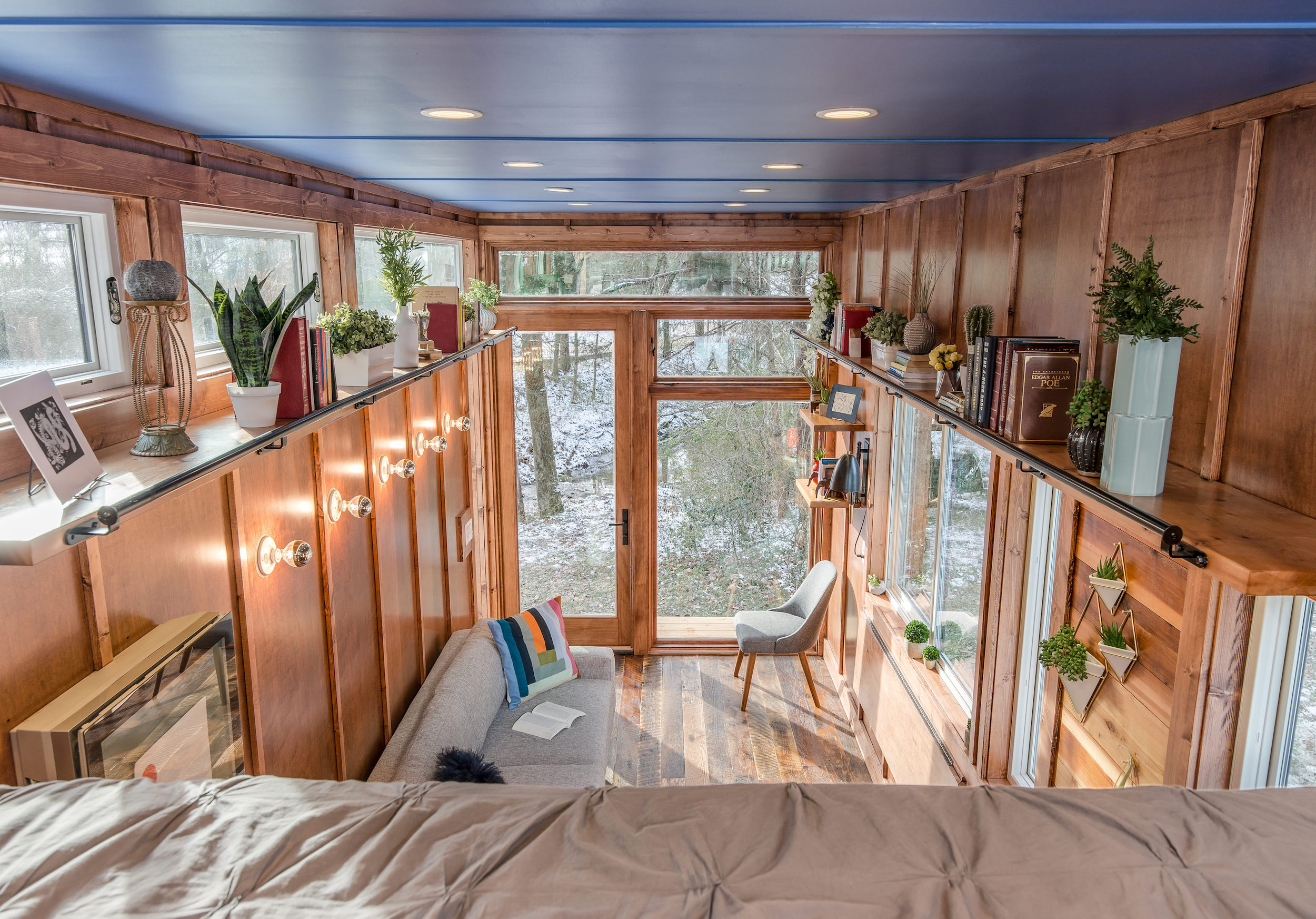 View From Loft - Cornelia by New Frontier Design