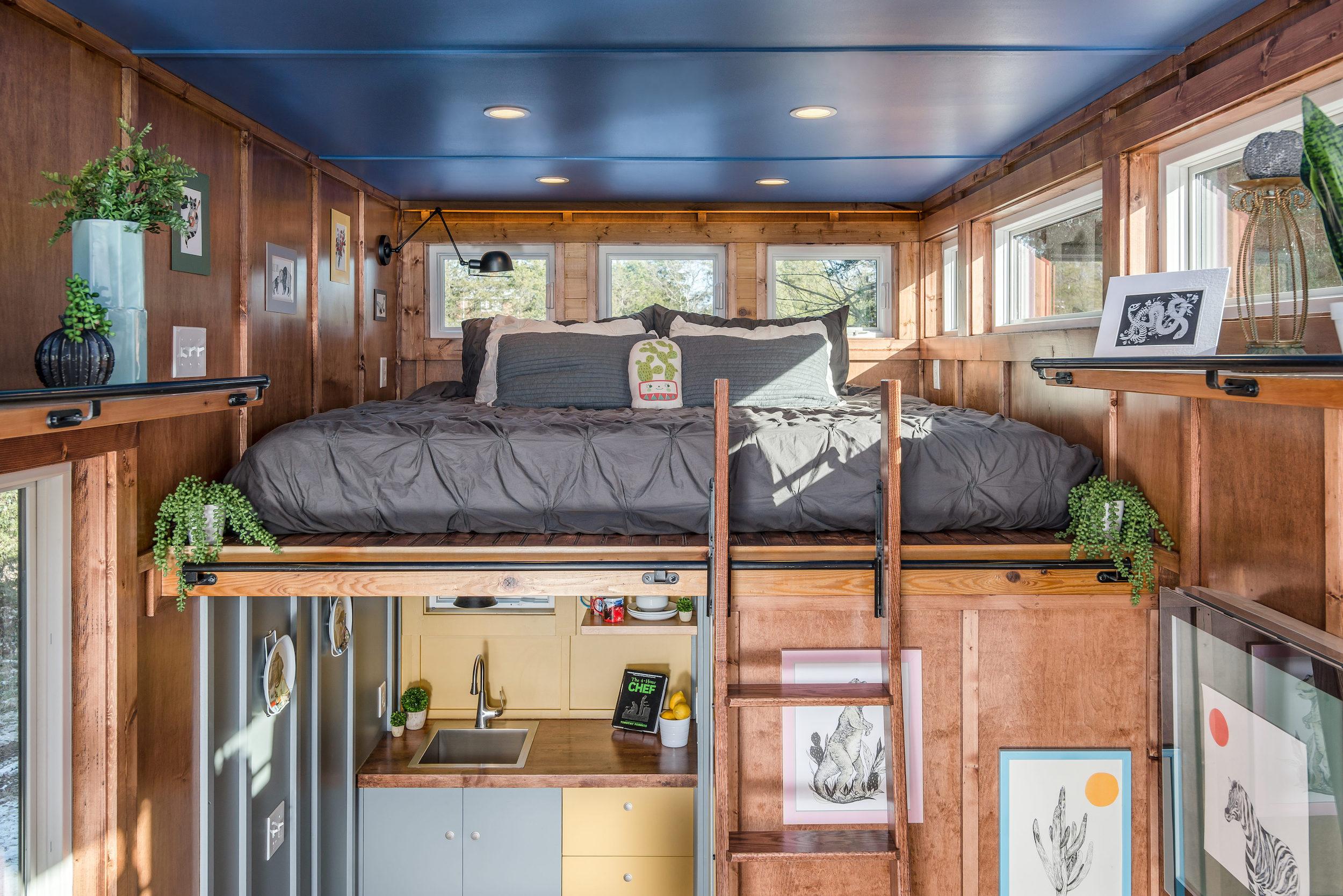 King Bedroom Loft - Cornelia by New Frontier Design